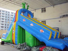 Good quality inflatable water slide for kids and adult , inflatable water slide with pool