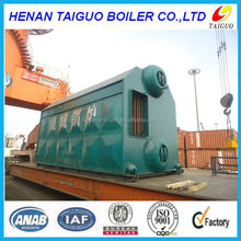 SZL double drum chain grate travelling grate coal fired steam boiler food factory,paper machine,noodle machine