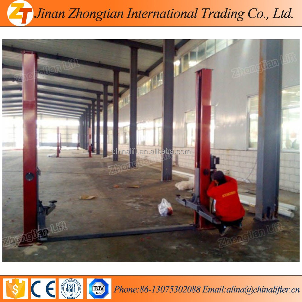 China Factory supply cheap 2 posts car lift, car repairing lift for sale