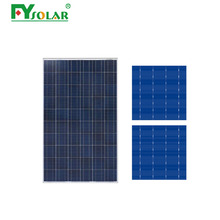 High Efficiency All Black 260W poly Solar Module PV Solar panel