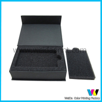 gift box with foam insert for credit card