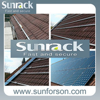 roof pv panel solar installation