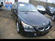 Salvage BMW 545i for sale used car