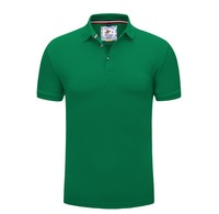 High quality v neck 95% polyester 5% spandex polo shirt