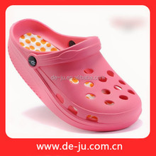Thick Sole Pink Plastic Women Model Sandal