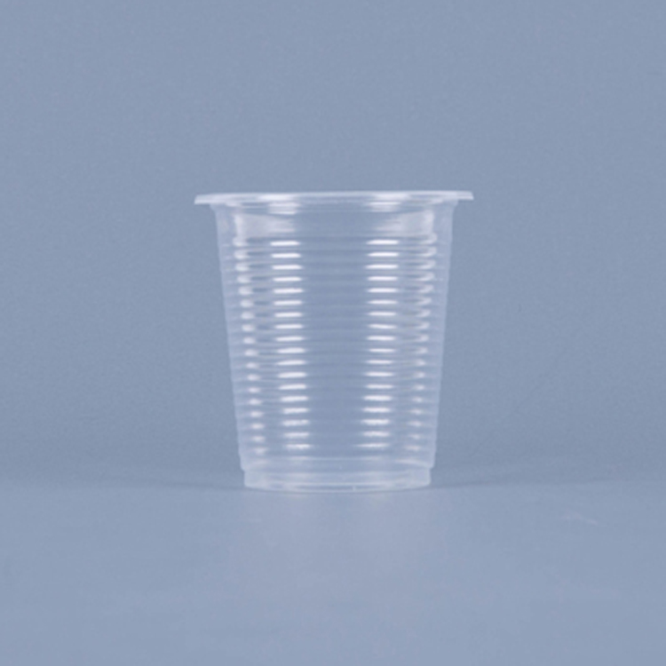 Glass Clear Color Disposable 5oz PP Plastic Cup