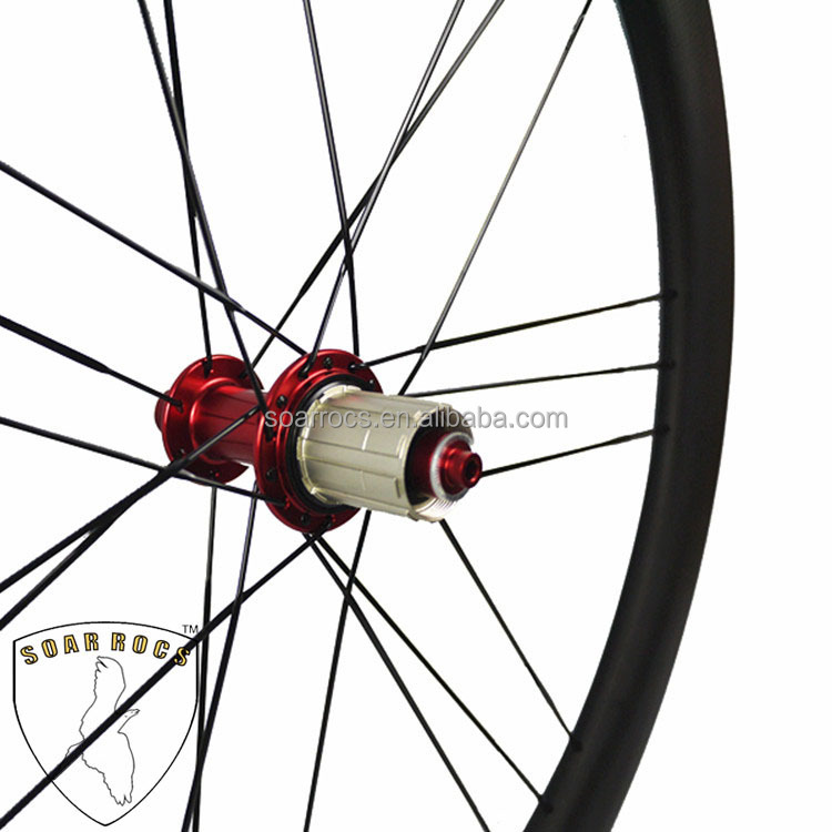 Lightest carbon wheelset 50mm clincher U shape 25mm width road bike wheels18h/21h carbonwheels