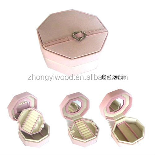 BSCI Canada customers' design different styles wooden jewellery box