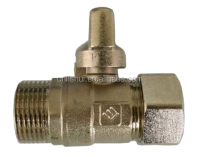 Butterfly Handle Forged Brass Ball Valve(Male x P-Al-P Connection)