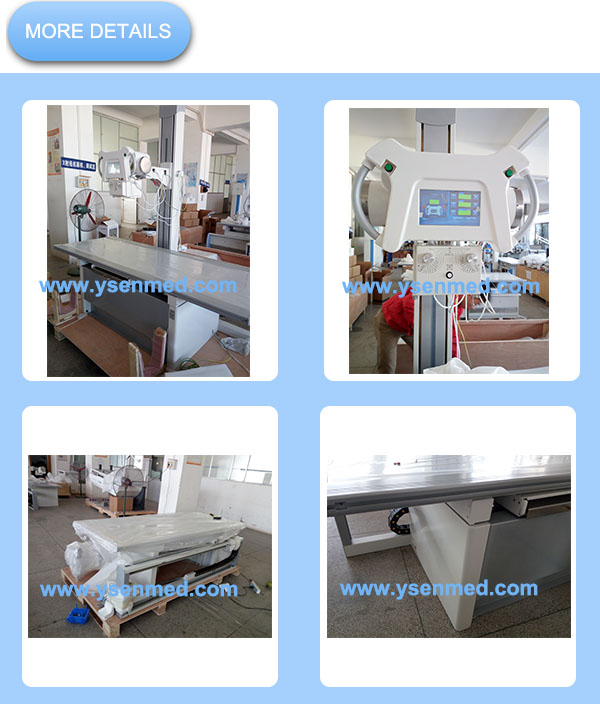 high frequency 50kw flat panel detector radiography system digital x-ray for sale