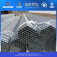 hot dip galvanized steel pipe ship from Tianjin port