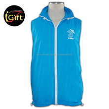 Wholesale Factory Price Manufactures Uniform Cheap Printed Customized Vests