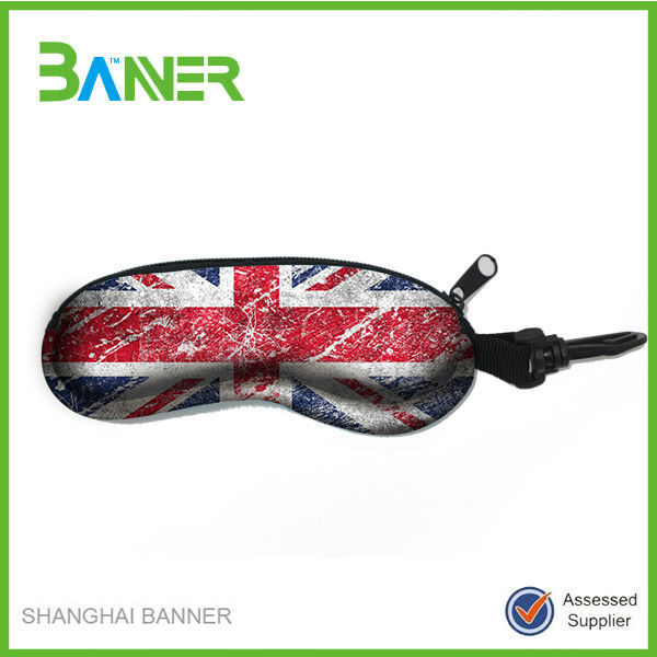 Promotional waterproof light neoprene eyeglasses sunglasses bag