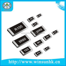 High Quality 0201,0401,0603,0805,1206,1210,2010,2512 CHIP/SMD FIXED RESISTOR