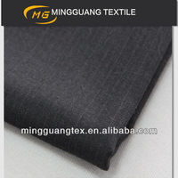 76/24 twill gabardine polyester suiting fabric