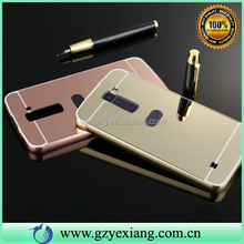 Cheap Price Cell Phone Metal Aluminum Bumper Case Cover For LG Q6 Mirror Case