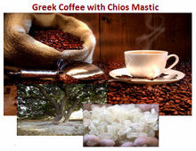 Greek Coffee with Chios Mastic