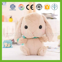 Promotional lovely china lop eared soft rabbits plush toy for sale