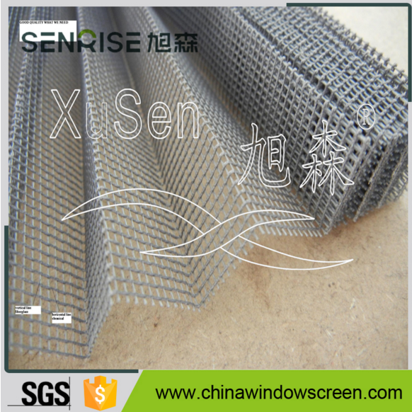 Mosquito Polyester Plisse Insect Screen/Folding wire mesh , Window Folding Net