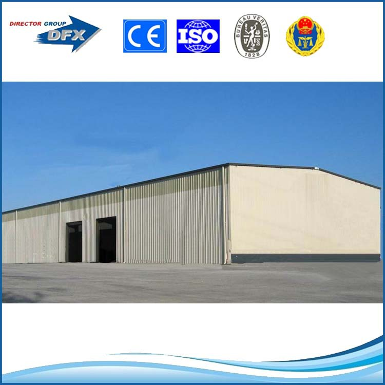 light metal building construction gable frame prefabricated industrial steel structure warehouse 5118