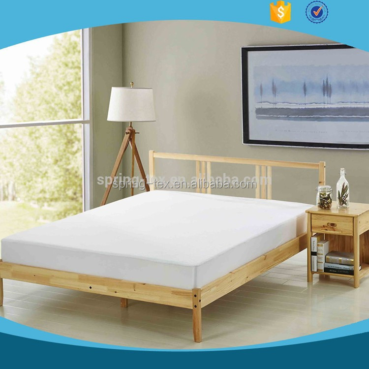 OEKO-TEX Certified Manufacturer 220GSM Cotton Terry Towelling Waterproof Bed Bug Mattress Cover, Waterproof Mattress Protector