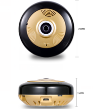 Hot price dual lens 360 degree fish eye wifi p2p ip panoramic camera