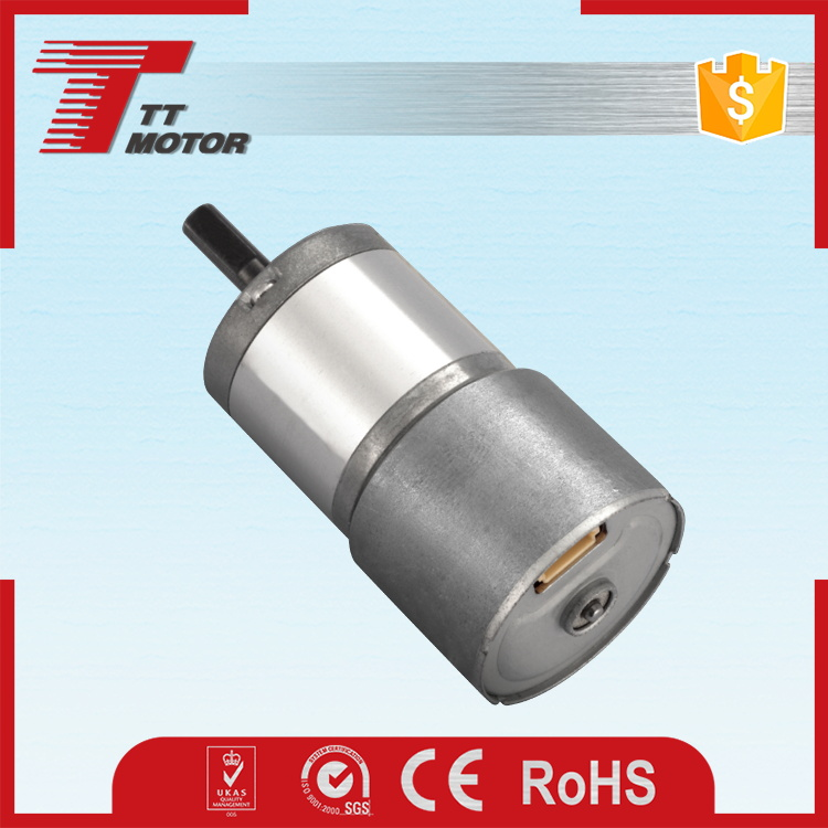 Small planetary gear brushless 12v dc motor rs 550