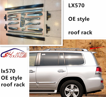 lx570 roof rails for toyota lexus lx570 2013-2015 OE style roof rack with cross bar