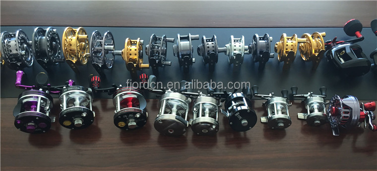 FJORD Best in stock front release and rear release force double brake imitate CNC handle salt water bait runner fishing reel