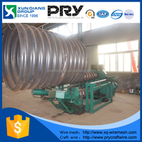 Galvanized Corrugated Metal steel Culvert pipe used for road drainage