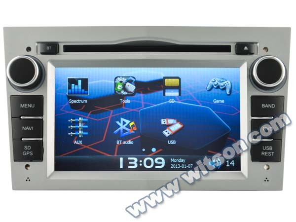 WITSON car audio DVD navigation system OPEL VECTRA