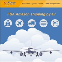 Cheap FBA shipping air freight rates guangdong/china to usa/Amazon