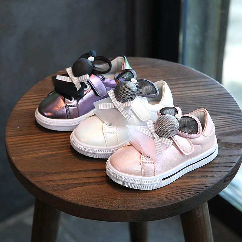QX717 korea new style 2017 autumn children 1 to 3 years baby girl lovely shoes cartoon female single shoes wholesale