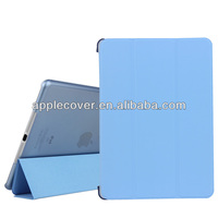 Hot selling Accessories for Apple iPad Air Ultra Thin Magnetic Smart Cover case, for Apple iPad Air cover