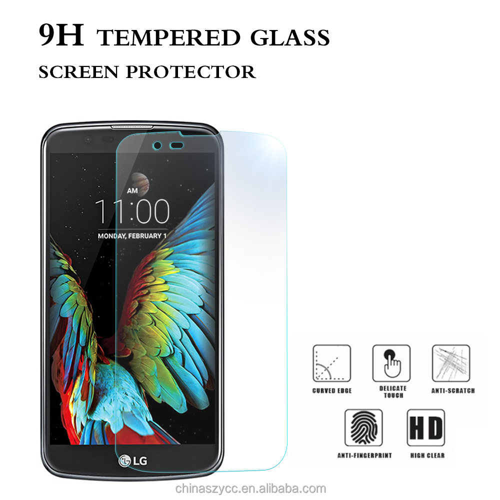 New Premium Real High Clear Film Screen Protector for lg k10 Tempered Glass