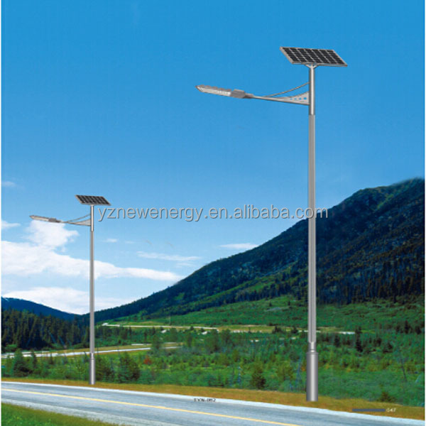 led solar street light with 12v gel battery