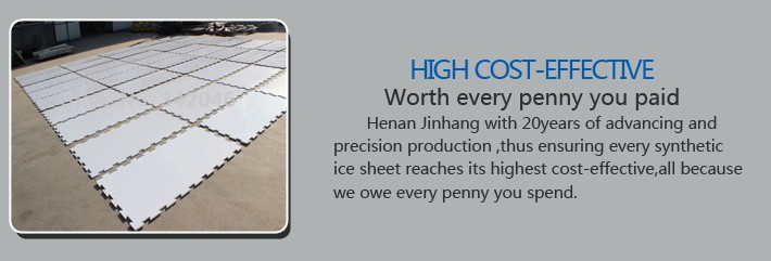 Hockey flooring synthetic ice tiles synthetic ice surface