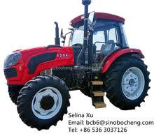cheap big farm tractor 120hp 4wd 6 cylinder engine for sale