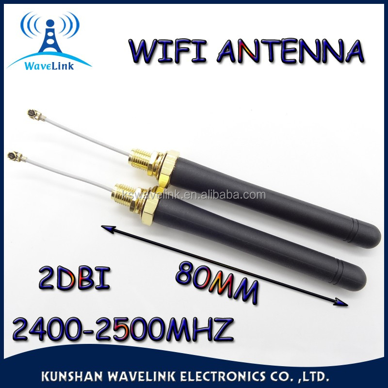 Factory Price External Waterproof 2DBI 2.4Ghz Rotating Antenna Rp-SMA Connector