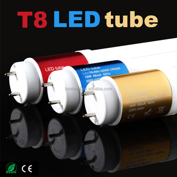 Removable smd2835 18w 1200mm t8 led tube with CE RoSH IEC