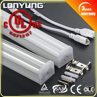 HOT SALE!! 40W 5ft light Double 230volt LED T5 Integrated 230 volt power cord