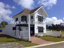 modular villa factory prices exterior wall siding house
