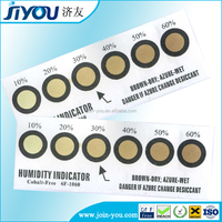 One to Six dots Cobalt-free Humidity Indicator Cards/Strips/Paper/Sheet,China Manufacturer
