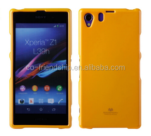 for Sony Xperia J ST26i case,mercury goospery jelly tpu gel cover