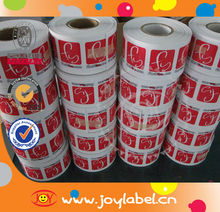 Best price customized print logo vinyl sticker roll
