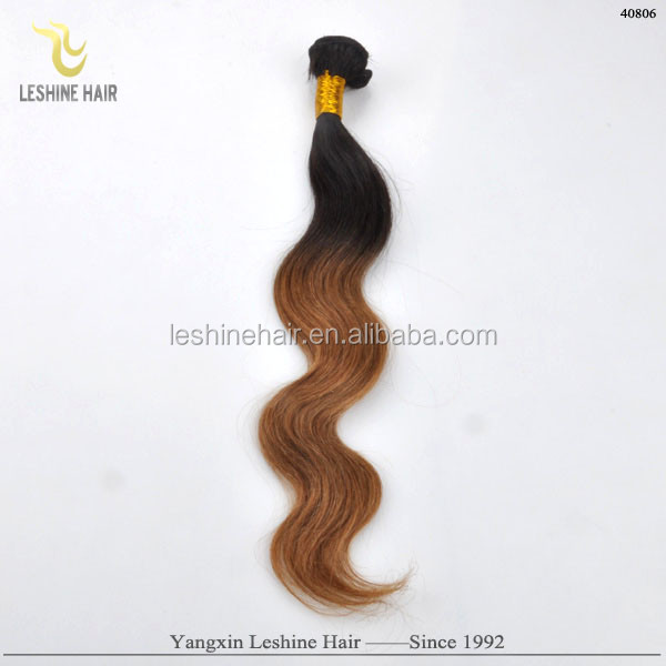 Top Grade Full Cuticle Popular Unprocessed supreme sensual ombre brazilian hair body wave
