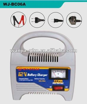 WJ-BC06A 12V 6A battery charger,CE,RoHs approved