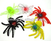 soft halloween spiders fool people toys