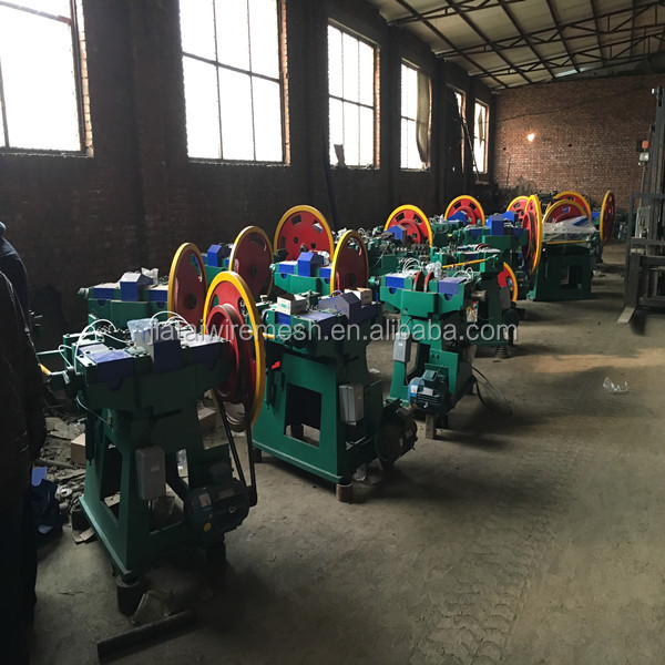 2016 Hot sale! Z94 series Low noise common iron nails making machine with good service after sale