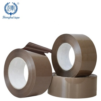 48Mm X 66M Strong Adhesive Box Packaging Brown Low Noise Tape